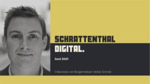 Der Bürgermeister von Schrattenthal, Stefan Schmid, produziert zur Bürgerinformation YouTube-Videos. Darin spricht er die Zuseherinnen und Zuseher direkt an und erzählt aus der Gemeinde. © Stefan Schmid