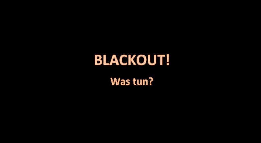blackout was tun